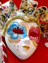 Venice Carnival ceramic mask - Italy Stock Images