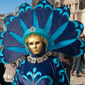 Venice carnival mask 2011 Royalty Free Stock Photos
