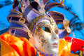 Venice carnival mask. Stock Images