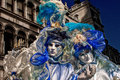 Venice carnival masks colors and atmosphere and characters of the of Royalty Free Stock Image