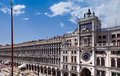 Venice clock tower of st mark st mark s square north italy Royalty Free Stock Image