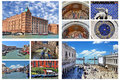 Venice collage - Italy Royalty Free Stock Photo