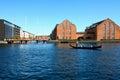 Venice in Copenhagen, Denmark. Old Town of Copenhagen. Nyhavn di Royalty Free Stock Photo