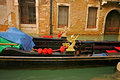 Venice Gondola Detail Royalty Free Stock Images