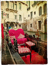 Venice - gondolas Royalty Free Stock Photo