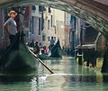 Venice gondolier Royalty Free Stock Photo