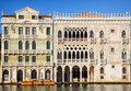 Venice historic buildings in italy Stock Images
