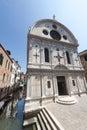 Venice, historic church Royalty Free Stock Photo