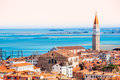 Venice italy aerial view of Royalty Free Stock Photo
