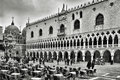 Venice italy april palazzo ducale and basilica di san marco on april in formerly the residence of the doge of Royalty Free Stock Photos