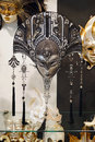 Venice italy august venetian carnival masks for sale the of an annual festival starting two weeks before ash Royalty Free Stock Image