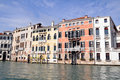 Venice italy canale grande in Stock Photography