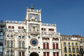 VENICE, ITALY/EUROPE - OCTOBER 12 : St Marks Clocktower in Venic Royalty Free Stock Photo