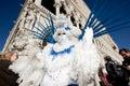 VENICE, ITALY - FEBRUARY 16: Venetian mask Stock Photography