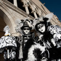 VENICE, ITALY - FEBRUARY 16: venetian mask Stock Images