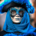 Venice italy february unidentified person in venetian mask masks at st mark s square carnival of on the annual carnival Royalty Free Stock Photo