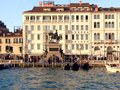 Venice italy gondolas in Royalty Free Stock Images