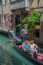 Venice italy june gondolas at grand canal in venice ita venetian on Royalty Free Stock Photos