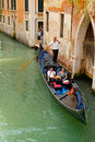 Venice italy june tourists travel gondolas canal near bridge june venice italy gondola traditional flat bottomed venetian rowing Stock Images