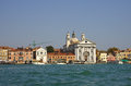 Venice italy october grand canal on october italy the boats moored near houses on grand canal Stock Image