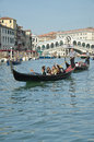 VENICE - March 28: Gondola at Stock Photography