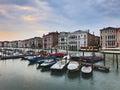 Venice Marina Chanel Set Royalty Free Stock Photo