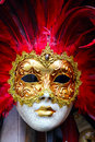 Venice mask traditional carnival close up Stock Photo