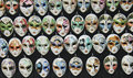 Venice masks venetian ceramic carnival Royalty Free Stock Photo