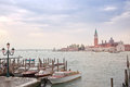 Venice morning. Island of San Giorgio Maggiore Stock Photo