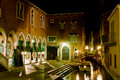 Venice, night scene Stock Images