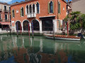 Venice this picturesque corner of the fondamenta malcanton Stock Photography