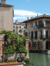 Venice this picturesque corner of the fondamenta malcanton Royalty Free Stock Image