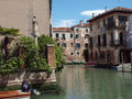 Venice this picturesque corner of the fondamenta malcanton Royalty Free Stock Images