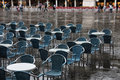 Venice in rain Royalty Free Stock Photos