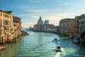 Venice reflections and surreal atmosphere of the canals of Royalty Free Stock Images