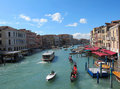 Venice 's Grand Canal for Editorial Stock Image