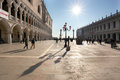 Venice with San Marks square, Italy Stock Images