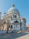 Venice santa maria della salute church in morning light Stock Photos