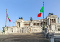 Venice Square and the Monument of Victor Emmanuel Royalty Free Stock Photo