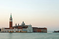 Venice sunrise architecture of church in italy Stock Photos