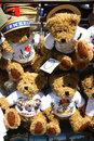 Venice teddies teddy bears for tourists in Royalty Free Stock Image