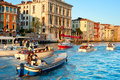 Venice traffic Royalty Free Stock Photo