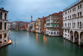 Venice at twilight view over grand canal in Stock Photography