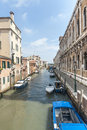 Venice (Venezia), canal Royalty Free Stock Photo