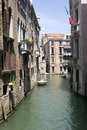 Venice view of the canals of Royalty Free Stock Images