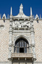 Venice view of ducal palace Stock Images