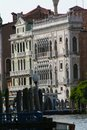 Venice, view of a palace on the Grand Canal Royalty Free Stock Photo