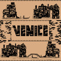 Venice vintage building Royalty Free Stock Photo