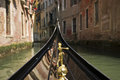 Venice walking through the canals of Stock Image