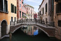 Venice walking through the canals of Royalty Free Stock Photo